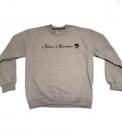 7f173e9442a0 Sweatshirt  Sound Signature Theo Parrish – Grey Crewneck Sweatshirt